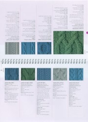 pages 42 and 43 of Knitting for Beginners book