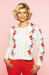 Pansy Chain (Flower Power) Cardigan