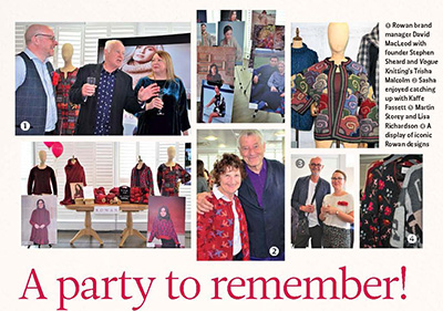 Rowan Yarns 40th anniversary party