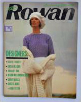 front cover of Rowan Book 1, 1986